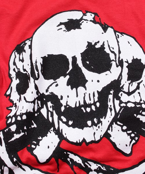 Official Artist Goods / バンドTなど |DISCHARGE / ディスチャージ:BORN TO DIE T-SHIRT (BLACK/RED) 商品画像4