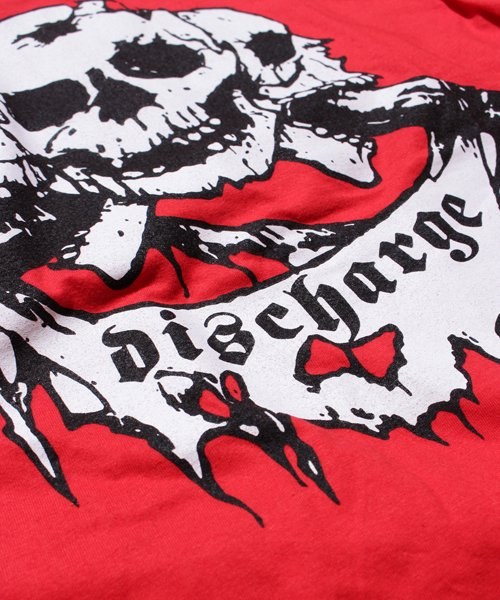 Official Artist Goods / バンドTなど |DISCHARGE / ディスチャージ:BORN TO DIE T-SHIRT (BLACK/RED) 商品画像5