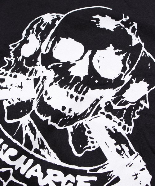 Official Artist Goods / バンドTなど |DISCHARGE / ディスチャージ:BORN TO DIE T-SHIRT (BLACK/RED) 商品画像6