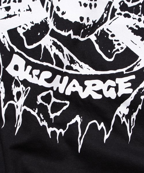 Official Artist Goods / バンドTなど |DISCHARGE / ディスチャージ:BORN TO DIE T-SHIRT (BLACK/RED) 商品画像7
