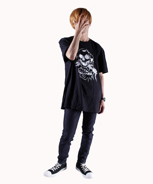 Official Artist Goods / バンドTなど |DISCHARGE / ディスチャージ:BORN TO DIE T-SHIRT (BLACK/RED) 商品画像9