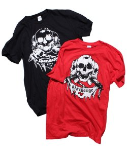 Official Artist Goods / バンドTなど / DISCHARGE / ディスチャージ:BORN TO DIE T-SHIRT (BLACK/RED)