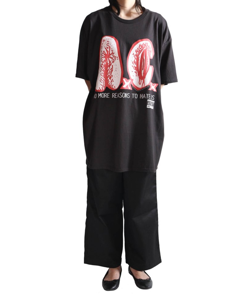 Official Artist Goods / バンドTなど |AxCx (ANAL CUNT) / アナル カント:40 MORE REASONS TO HATE US T-SHIRT (BLACK) 商品画像4