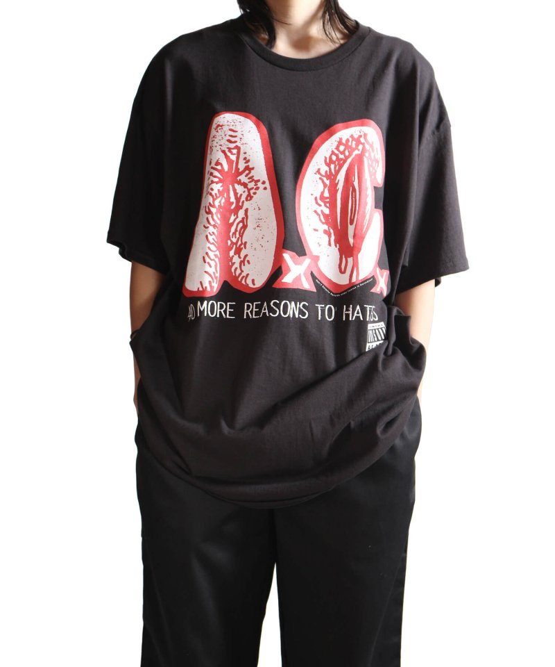 Official Artist Goods / バンドTなど |AxCx (ANAL CUNT) / アナル カント:40 MORE REASONS TO HATE US T-SHIRT (BLACK) 商品画像5
