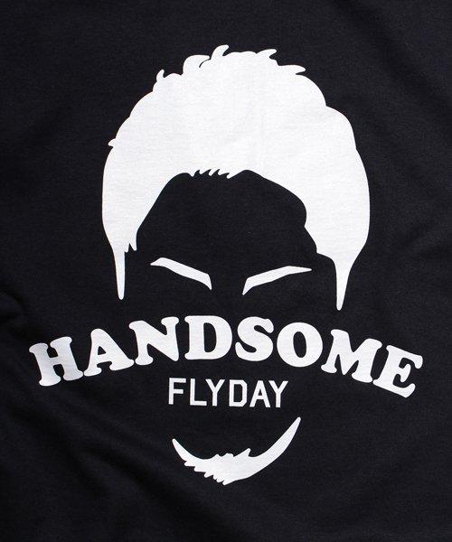 Official Artist Goods / バンドTなど |HANDSOME FLYDAY / ハンサム フライデイ:OFFICIAL T-SHIRT (WHITE/BLACK) 商品画像4