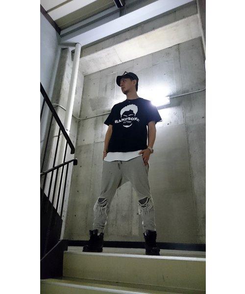 Official Artist Goods / バンドTなど |HANDSOME FLYDAY / ハンサム フライデイ:OFFICIAL T-SHIRT (WHITE/BLACK) 商品画像6