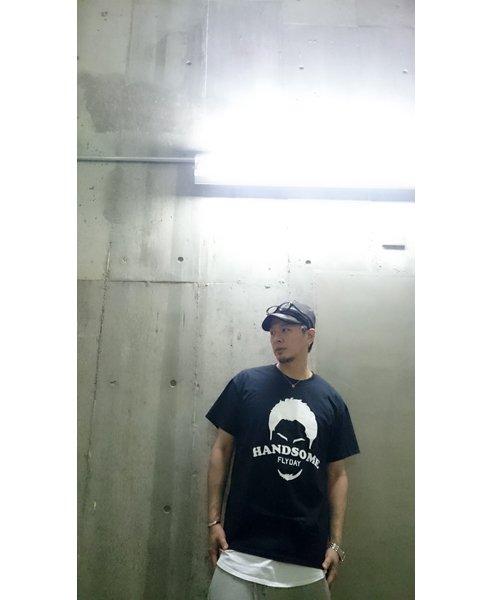 Official Artist Goods / バンドTなど |HANDSOME FLYDAY / ハンサム フライデイ:OFFICIAL T-SHIRT (WHITE/BLACK) 商品画像7