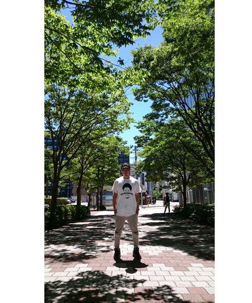 Official Artist Goods / バンドTなど |HANDSOME FLYDAY / ハンサム フライデイ:OFFICIAL T-SHIRT (WHITE/BLACK) 商品画像8