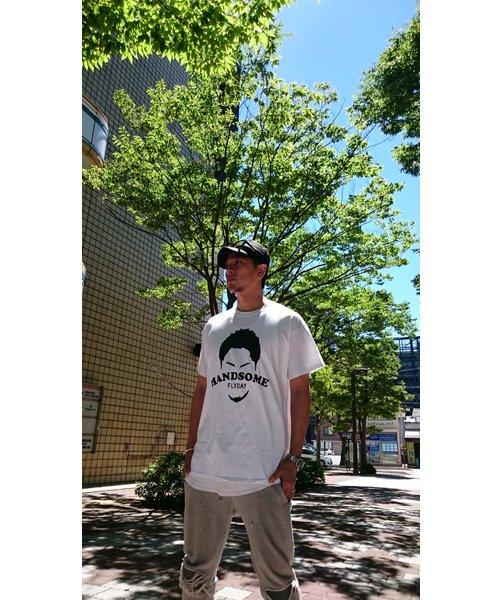 Official Artist Goods / バンドTなど |HANDSOME FLYDAY / ハンサム フライデイ:OFFICIAL T-SHIRT (WHITE/BLACK) 商品画像9