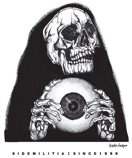Official Artist Goods / バンドTなど |SIDEMILITIA inc. / サイドミリティア:OFFICIAL T-SHIRT (KENTA FRIDAYZ DESIGN) 商品画像15
