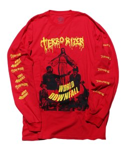 TERRORIZER<br>【 WORLD DWNFALL LONG SLEEVE SHIRT 】