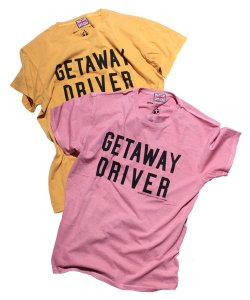 "RALEIGH:REDMOTEL(2色展開)<br>【 LUV2ROB ""GETAWAY DRIVER"" 教習所T-SHIRTS (大人用) 】"