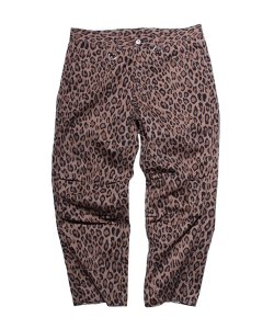 "RALEIGH:REDMOTEL<br>【 REMEMBER ME ""実はあのころちょっとイイなって思ってたんだよね"" LEOPARD CROPPED PANTS 】"