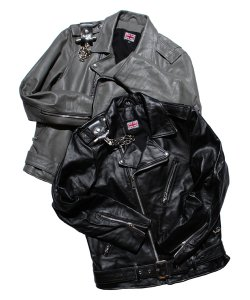 "RALEIGH:REDMOTAL(2色展開)<br>【 ""EZ RIDE & SCRAMBLE"" LEATHER JACKET (RW1976) 】"