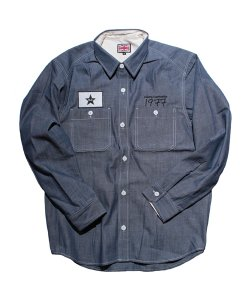 "RALEIGH:REDMOTEL<br>【 RALEI16H ""(I Got a Crush on You) 1977"" PRISON SHIRTS 】"