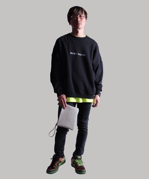 NIL DUE / NIL UN TOKYO / ニル デュエ / ニル アン トーキョー   LEATHER CLUTCH BAG / BEG 商品画像5