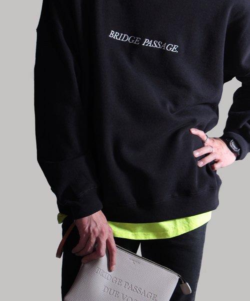 NIL DUE / NIL UN TOKYO / ニル デュエ / ニル アン トーキョー   LEATHER CLUTCH BAG / BEG 商品画像8