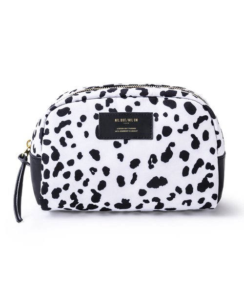 NIL DUE / NIL UN TOKYO / ニル デュエ / ニル アン トーキョー | LARGE LEATHER TAG POUCH / LEOPARD 商品画像1
