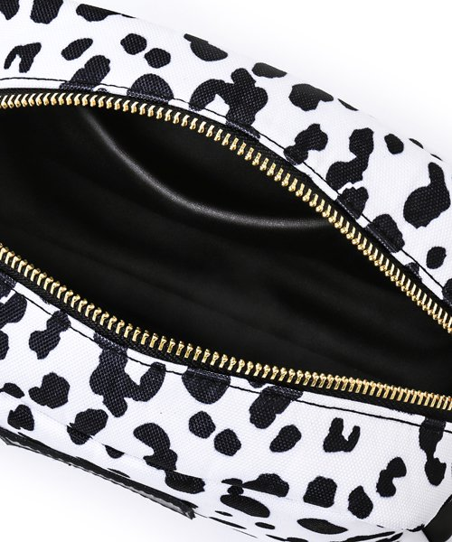 NIL DUE / NIL UN TOKYO / ニル デュエ / ニル アン トーキョー | LARGE LEATHER TAG POUCH / LEOPARD 商品画像3