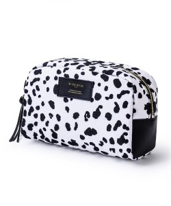NIL DUE / NIL UN TOKYO / ニル デュエ / ニル アン トーキョー /  LARGE LEATHER TAG POUCH / LEOPARD