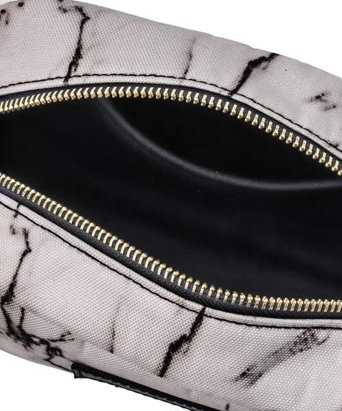 NIL DUE / NIL UN TOKYO / ニル デュエ / ニル アン トーキョー   LARGE LEATHER TAG POUCH / MARBLE 商品画像3