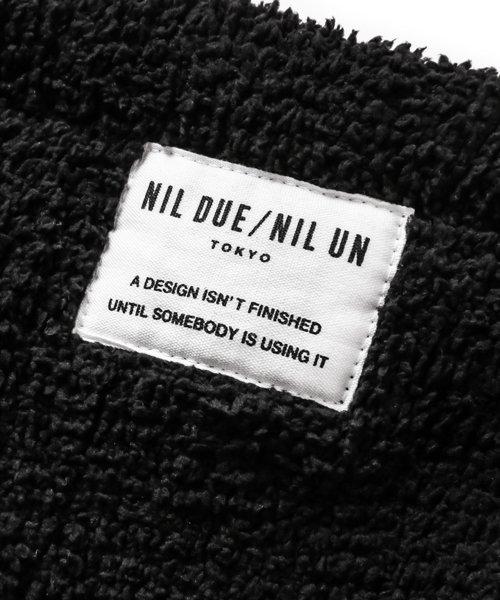 NIL DUE / NIL UN TOKYO / ニル デュエ / ニル アン トーキョー   PLUG LOGO ZIP HOOD SET UP / BLK 商品画像8