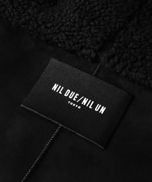 NIL DUE / NIL UN TOKYO / ニル デュエ / ニル アン トーキョー | SIDE ZIP BOA COAT 商品画像4