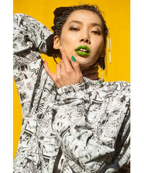 PIIT / ピット |荒木飛呂彦 × PIIT  ゴージャス☆アイリン / 2LAYER JKT 商品画像27