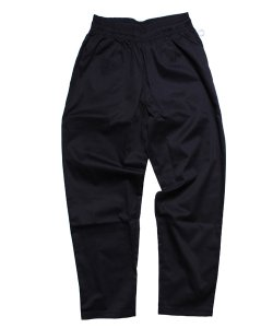 COOKMAN / クックマン(UNISEX)<br>【 CHEF PANTS:BLACK 】