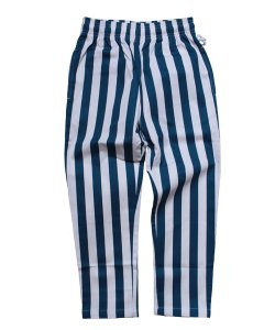 COOKMAN(KIDS)<br>【 CHEF PANTS KIDS:WIDE STRIPE 】