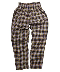 COOKMAN:クックマン(UNISEX)<br>【 CHEF PANTS CORDUROY TARTAN:YELLOW 】