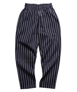 COOKMAN:クックマン(UNISEX)<br>【 CHEF PANTS:STRIPE BLACK 】