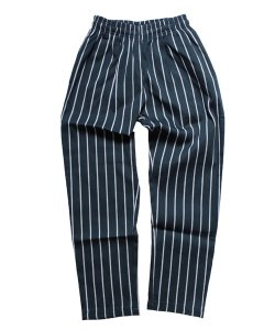 COOKMAN / クックマン(KIDS)<br>【 CHEF PANTS KIDS / STRIPE D.GREEN 】