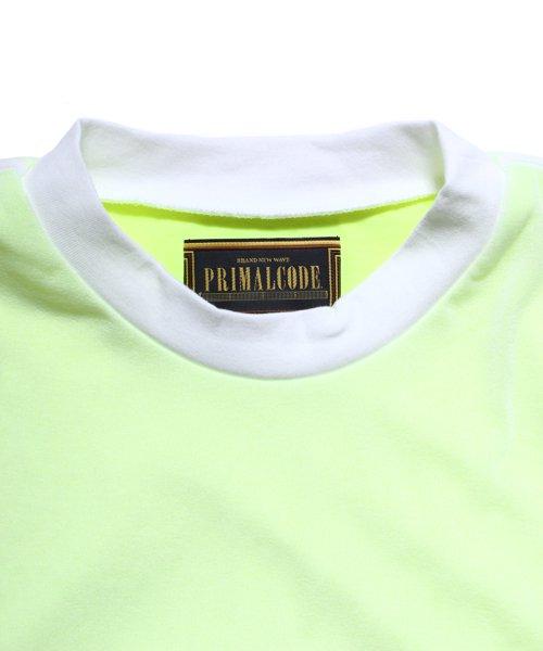 OTHER BRAND / その他ブランド |PRIMALCODE / プライマルコード DOUBLE TEE SHIRTS (YELLOW) 商品画像6