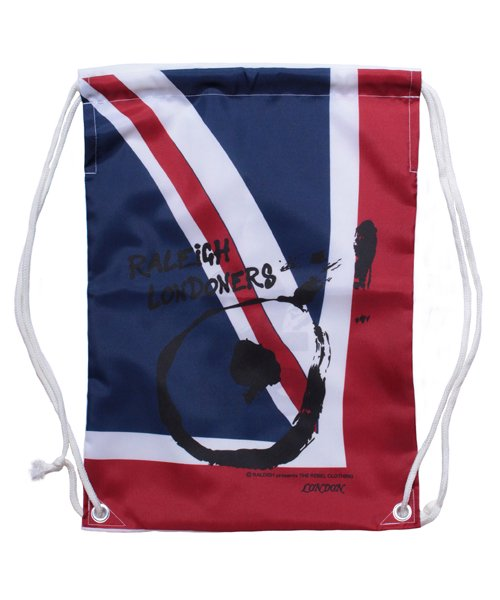 """RALEIGH / ラリー(RED MOTEL / レッドモーテル)   """"WAVE A UNION FLAG"""" or """"£ STERLING"""" KNAPSACK 商品画像1"""