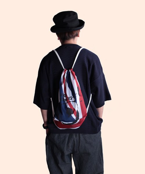 """RALEIGH / ラリー(RED MOTEL / レッドモーテル)   """"WAVE A UNION FLAG"""" or """"£ STERLING"""" KNAPSACK 商品画像16"""