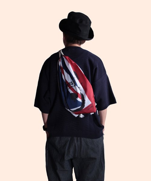 """RALEIGH / ラリー(RED MOTEL / レッドモーテル)   """"WAVE A UNION FLAG"""" or """"£ STERLING"""" KNAPSACK 商品画像17"""