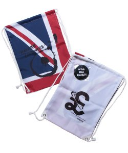 "RALEIGH / ラリー REDMOTEL / レッドモーテル<br>【 ""WAVE A UNION FLAG"" or ""£ STERLING"" KNAPSACK 】"