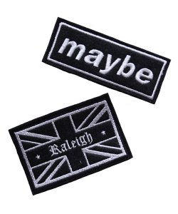 "RALEIGH / ラリー REDMOTEL / レッドモーテル<br>【 ""We Definitely Love OASIS…Maybe…""VELCRO MORALE PATCH 】"