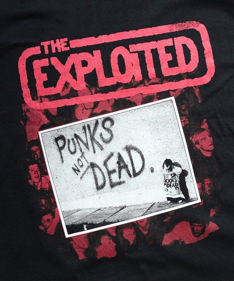 Official Artist Goods / バンドTなど |THE EXPLOITED / エクスプロイテッド:PUNKS NOT DEAD T-SHIRT (BLACK) 商品画像1