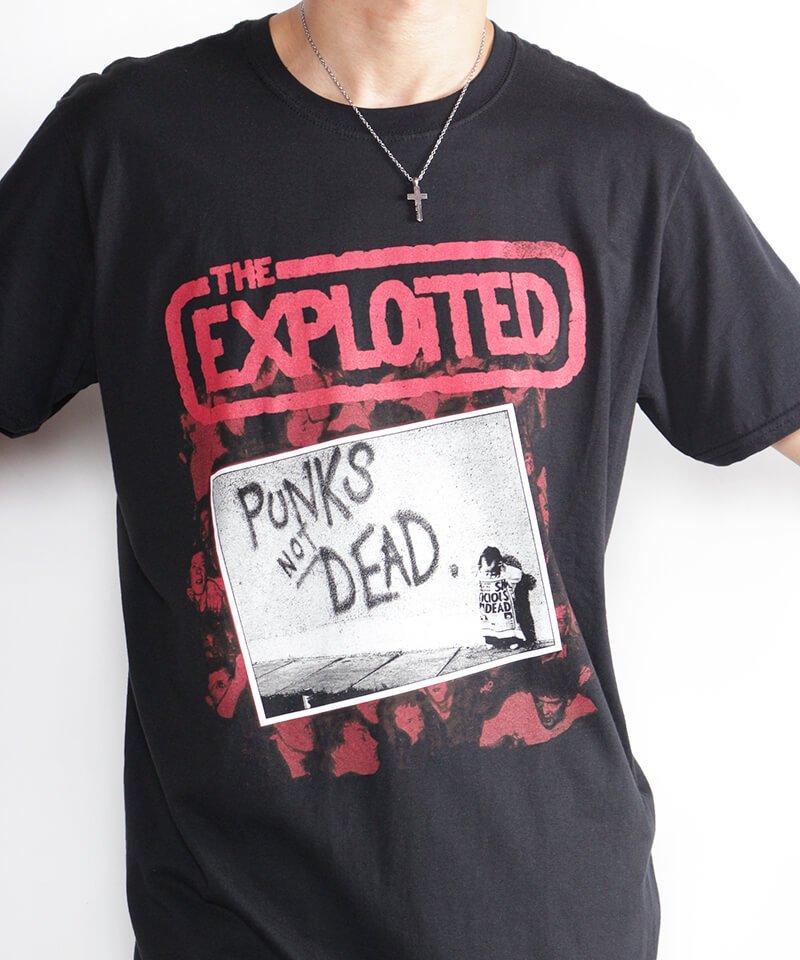Official Artist Goods / バンドTなど |THE EXPLOITED / エクスプロイテッド:PUNKS NOT DEAD T-SHIRT (BLACK) 商品画像7