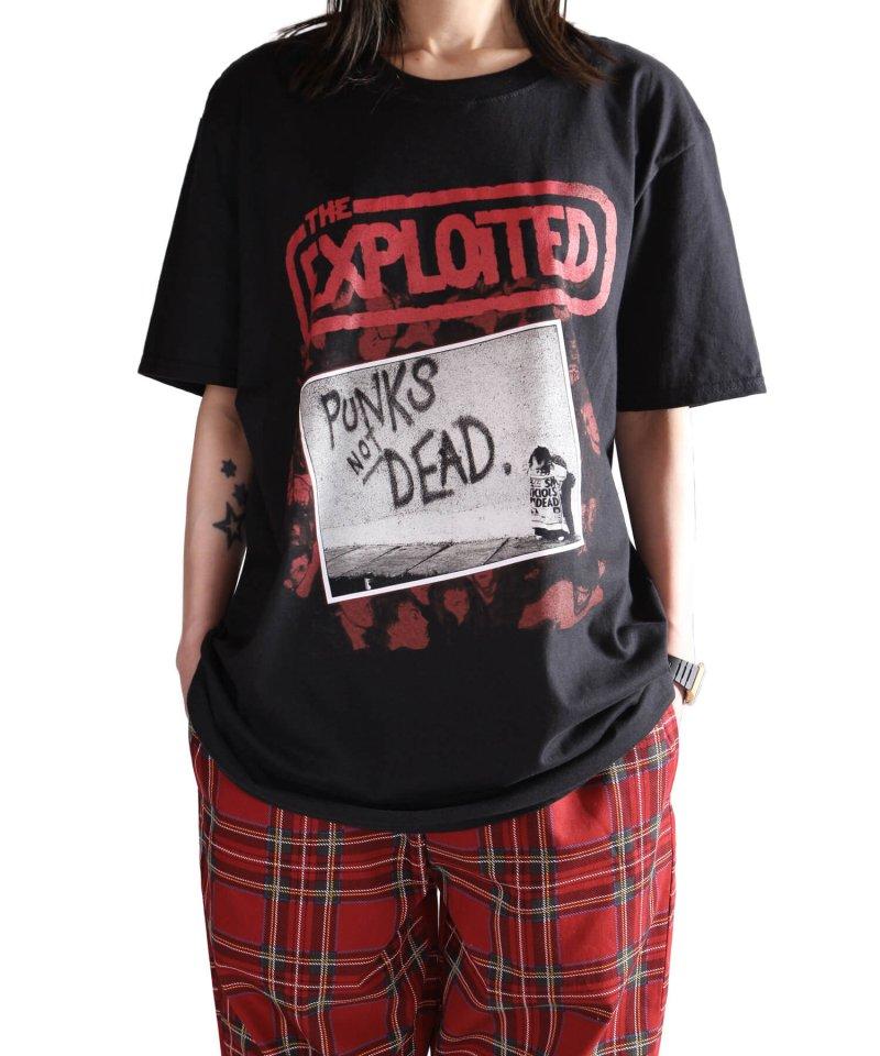 Official Artist Goods / バンドTなど |THE EXPLOITED / エクスプロイテッド:PUNKS NOT DEAD T-SHIRT (BLACK) 商品画像9