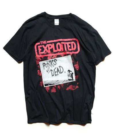 THE EXPLOITED / エクスプロイテッド<br>【 PUNKS NOT DEAD T-SHIRT 】