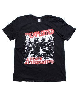 THE EXPLOITED / エクスプロイテッド<br>【 ATTACK / ALTERNATIVE T-SHIRT 】