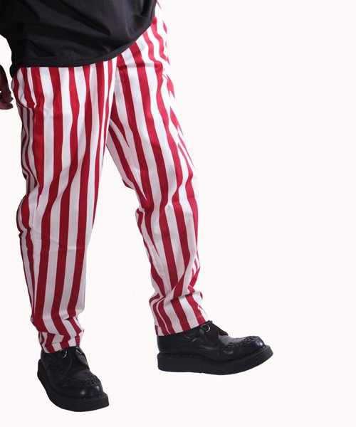 COOKMAN / クックマン | CHEF PANTS / WIDE STRIPE (RED):チーフパンツ 商品画像16