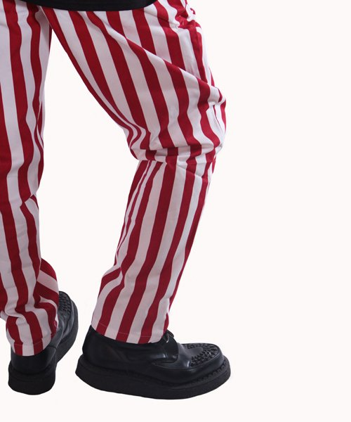 COOKMAN / クックマン | CHEF PANTS / WIDE STRIPE (RED):チーフパンツ 商品画像17
