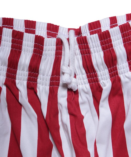 COOKMAN / クックマン | CHEF PANTS / WIDE STRIPE (RED):チーフパンツ 商品画像4