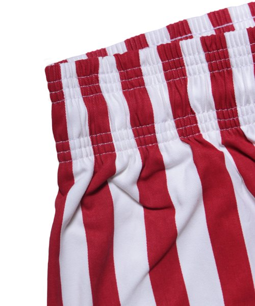 COOKMAN / クックマン | CHEF PANTS / WIDE STRIPE (RED):チーフパンツ 商品画像5