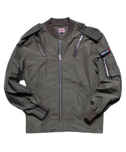 "RALEIGH/ラリーREDMOTEL/レッドモーテル<br>【""RALE16H with The Thorn In His Side""L-2B FLIGHT JACKET(Summer Ver.)】"