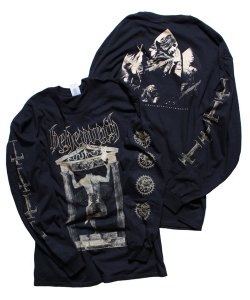 BEHEMOTH / ベヒーモス<br>【 MESSE NOIRE LONG SLEEVE-SHIRT 】